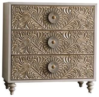 Bungalow Rose Massira 3 Drawer Bachelor's Chest