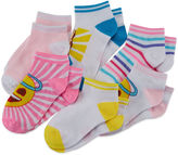 Asstd National Brand Emoji 6-pk. Stripe Socks
