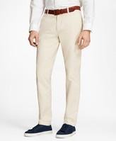 Brooks Brothers Garment-Dyed Cotton-Linen Stretch Chinos