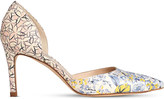 LK Bennett Flossie floral-print leather courts