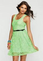 Delia's Neon Lace Dress