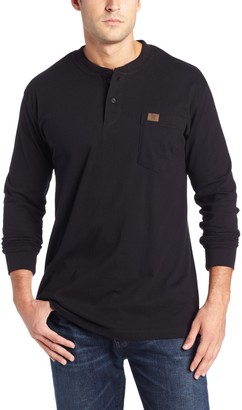 Wrangler Riggs Workwear Men's Big and Tall Long Sleeve Henley