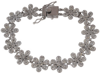 Forever Creations Usa Inc. Forever Creations Silver 3.50 Ct. Tw. Diamond Bracelet