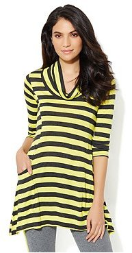 New York & Co. Love, NY&C Collection - Striped Tunic