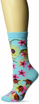 Ozone Womens Insect Warrior Sock-Blue OSFM