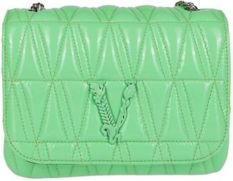 Versace Virtus Quilted Evening Shoulder Bag