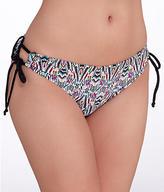 Pour Moi? Pour Moi: Geo Tie-Side Bikini Bottom