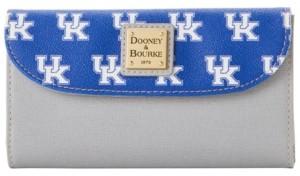 Dooney & Bourke Kentucky Wildcats Saffiano Continental Clutch