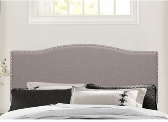 Hillsdale Furniture Kiley Upholstered Headboard with Nailhead Trim, Multiple Sizes