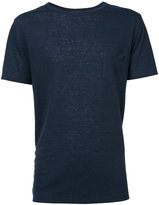 Onia Chad SS linen T-shirt - men - Linen/Flax/Polyester - S
