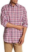 Thomas Dean Plaid Classic Fit Shirt