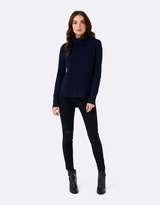 Forever New Talia Step Hem Roll Neck Sweater