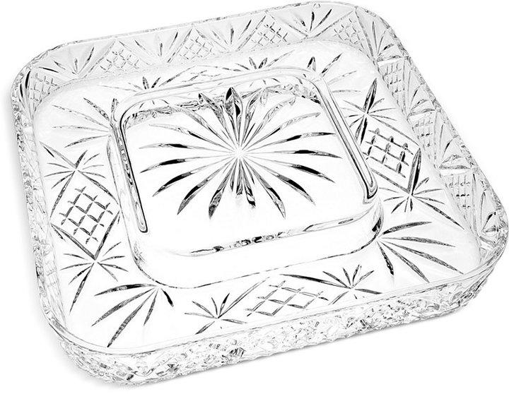 Godinger Serveware, Dublin Cheese and Cracker Platter