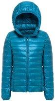 Mochoose Women's Winter Hooded Down Puffer Jacket Coat Packable Ultra Light Weight