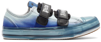 Palm Angels Blue Vulcanized Sneakers