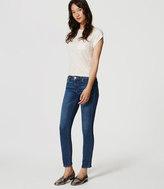 LOFT Modern Slim Ankle Jeans in Original Medium Stonewash