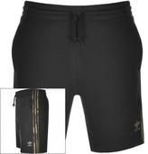 adidas Three Stripe Shorts Black