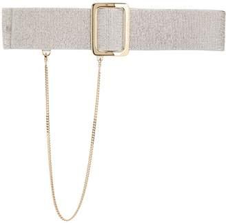 Ermanno Scervino chain-detail buckle belt