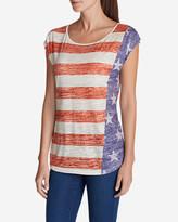 Eddie Bauer Women's Flag T-Shirt