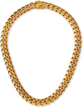 Fallon Ruth Curb Chain Necklace, 12mm