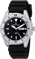 Sartego Men's SPQ51-R Ocean Master Japanese Quartz Movement Watch