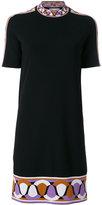 Emilio Pucci jacquard hem knit dress - women - Polyester/Viscose - S