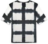 Issey Miyake Printed Cotton-jersey T-shirt