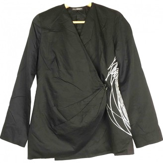Marimekko Black Cotton Jacket for Women