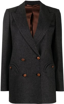 BLAZÉ MILANO Double-Breasted Wool Blazer