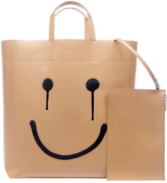 Balenciaga Market Medium Happy Printed Tote Bag