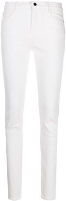 Emporio Armani Mid-Rise Slim-Fit Trousers