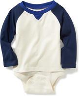 Old Navy 2-in-1 Color-Block Bodysuit for Baby