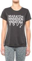 New Balance Graphic T-Shirt - Short Sleeve (For Women)
