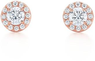 Tiffany & Co. Soleste earrings in 18k rose gold with diamonds
