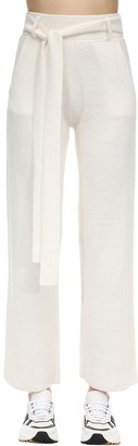 Falke Linen & Silk Blend Milano Knit Pants