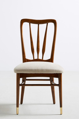 Anthropologie Haverhill Dining Chair By in Beige Size ALL