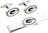 Cufflinks Inc. Men's Green Bay Packers Cufflinks and Tie Bar Gift Set