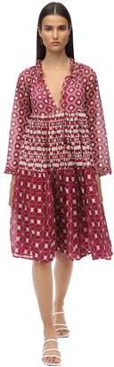 Yvonne S Cotton Voile Midi Dress