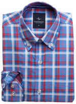 Tailorbyrd French Plaid Dress Shirt (Big Boys)