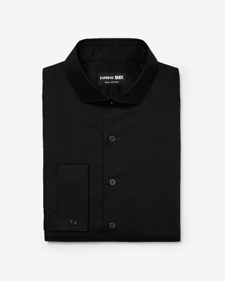 Express Classic Stretch Cotton French Cuff 1Mx Dress Shirt