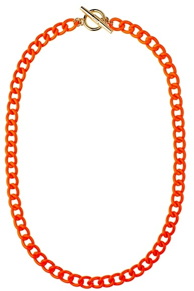 Juicy Couture Neon Link Necklace