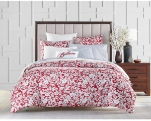 Charter Club Damask Designs Garden Manor Cotton 300-Thread Count 2-Pc. Twin Comforter Set, Created for Macy's Bedding
