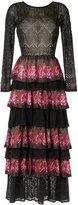 Cecilia Prado knit maxi dress - women - Acrylic/Lurex/Viscose - P