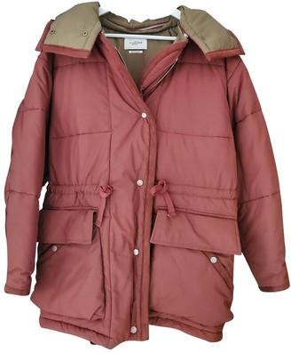 Etoile Isabel Marant Burgundy Cotton Coat for Women