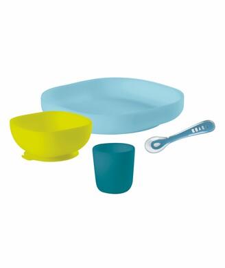 Beaba 4-Piece Silicone Suction Baby Feeding Set