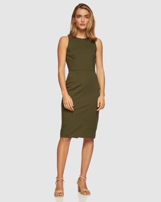 Oxford Charlotte Ponti Dress