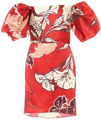 Johanna Ortiz Ancestral Belonging silk minidress