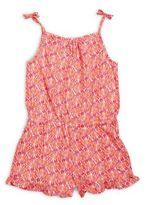 Vineyard Vines Girl's Shell Print Knit Romper