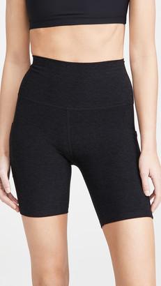 Beyond Yoga Spacedye Pocket High Waist Bike Shorts
