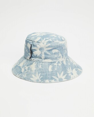 Double Rainbouu Blue Hats - Flop Top Hat - Size One Size at The Iconic